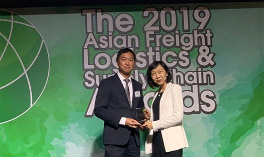 MSC Wins Best Shipping Line Asia–Africa Award