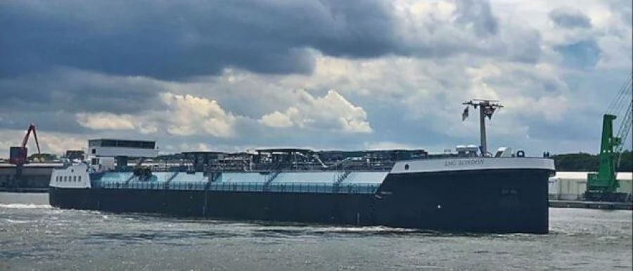 Europe's First Inland-Waterway LNG Bunker Vessel 'LNG London' Begins Operations